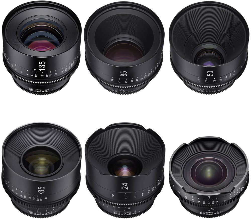 xeen-lenses-set